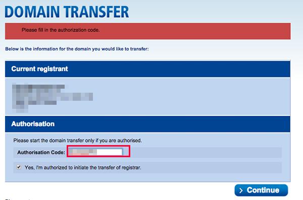 domain transfer 13